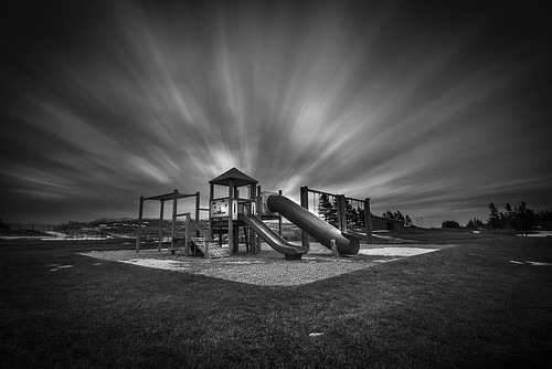 longexposure winter urban canada beach playground clouds landscape movement nikon noiretblanc 1635 shediac d810