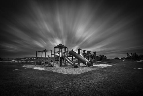 longexposure winter urban canada beach playground clouds landscape movement nikon noiretblanc 1635 shediac d810