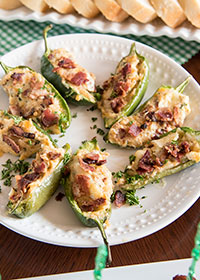 Cheesy Bacon Jalapeno Poppers