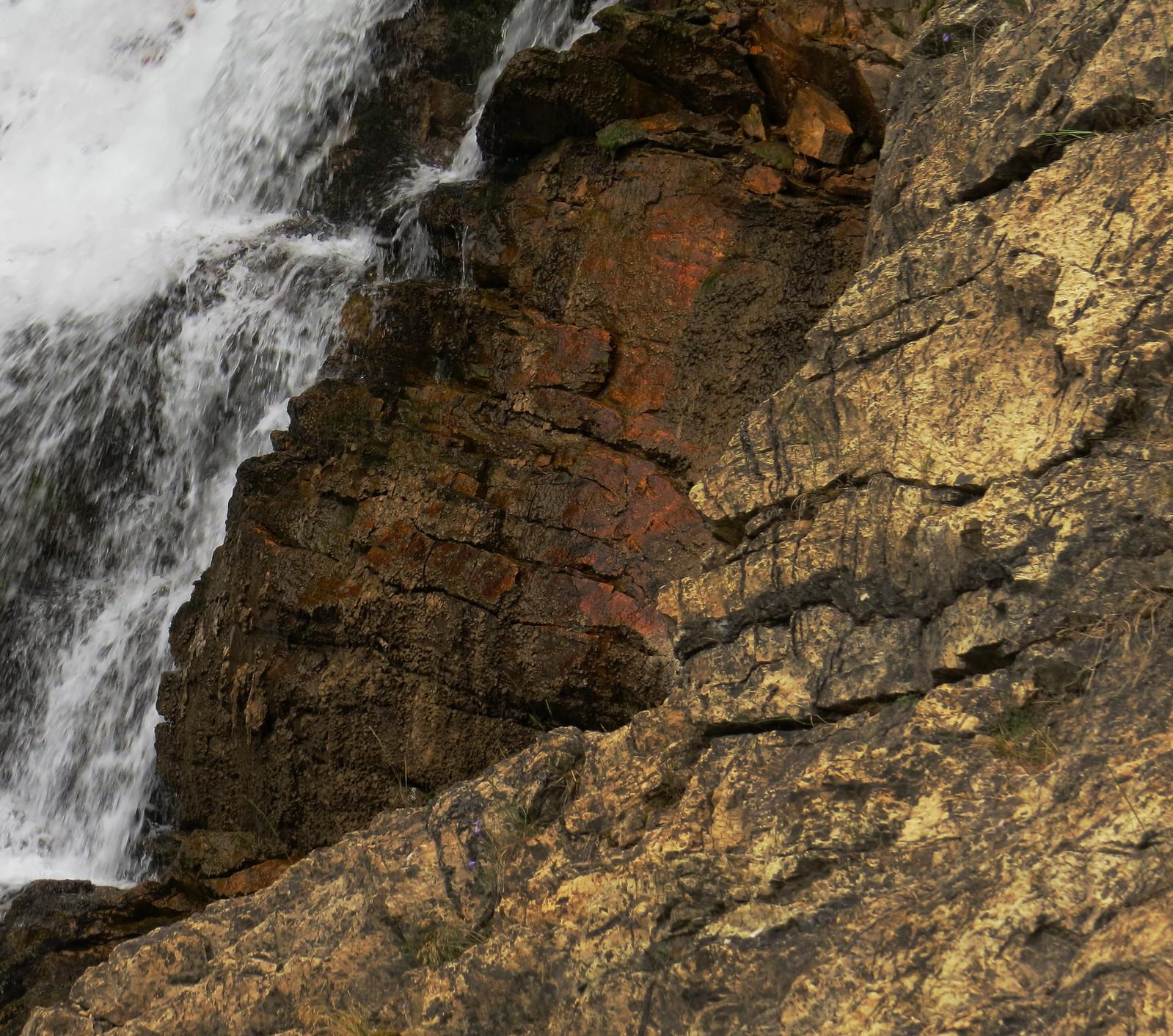 Nínaawa Rock, Running Eagle Falls, Blackfeet Glacier, Montana