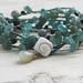 Stormy Beach Crocheted Wrap Bracelet