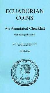 Ecuadorian Coins An Annotated Checklist