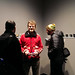Instantly Yours & Fridge fete: Andrew MK Warren, Yorgos, and Hank Hauptmann check out the show