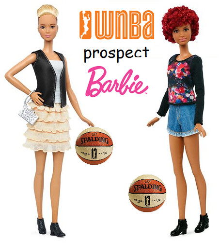 New Body Shapes for Barbie