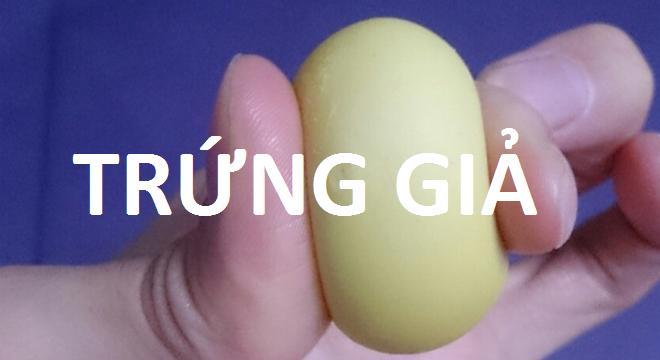 Kinh hoàng: Nhìn tận mắt công nghệ làm trứng gà giả ở Trung Quốc