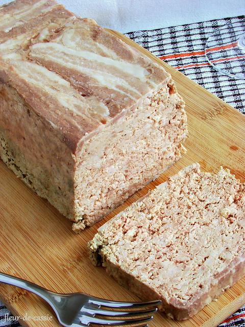 террин из смешанного мяса и куриной печени 2