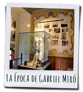 De persoonlijke bezittingen en vele foto's geven je een mooie kijk in het leven van de Alicantijnse schrijver Miró