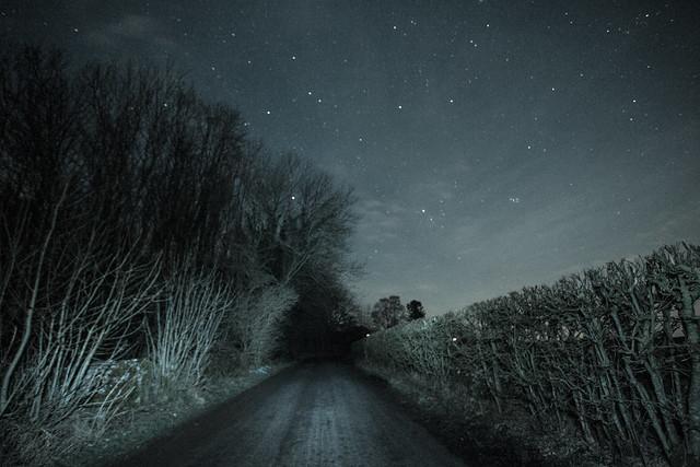 Night sky, Great Strickland