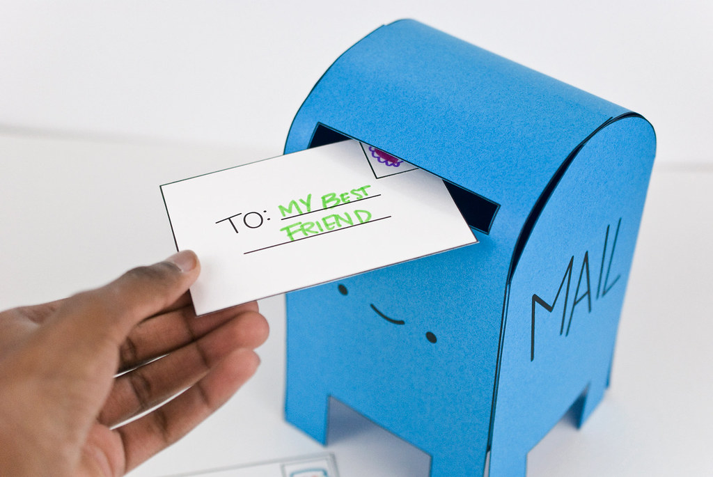 Happy Mailbox Playset Printable