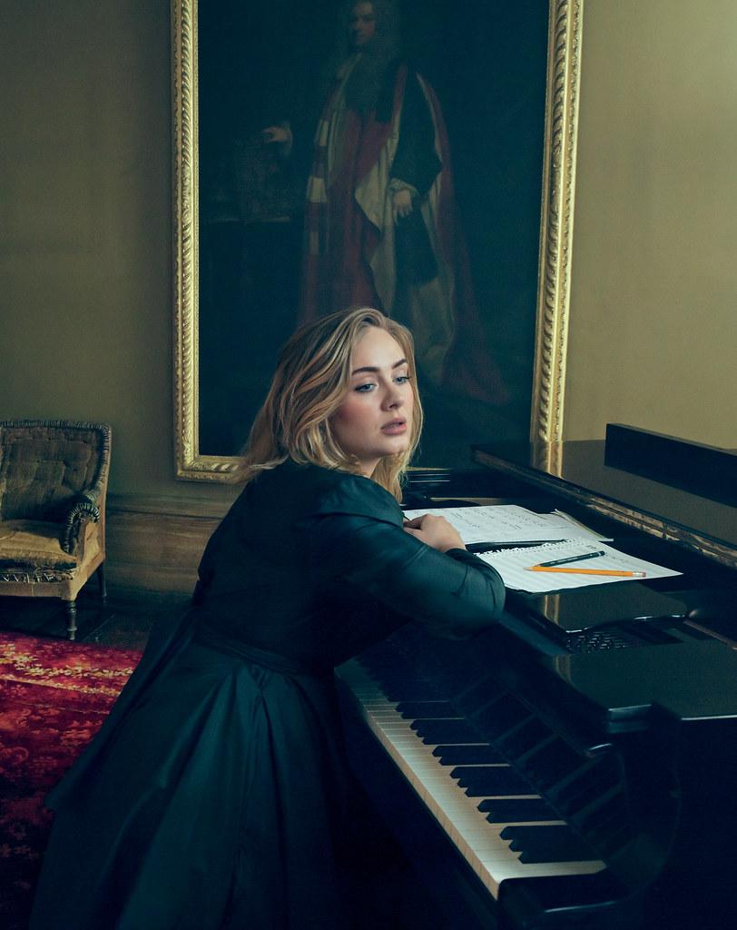 Адель — Фотосессия для «Vogue» 2016 – 5