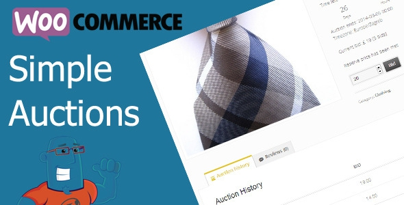 WooCommerce Simple Auctions v1.2.20