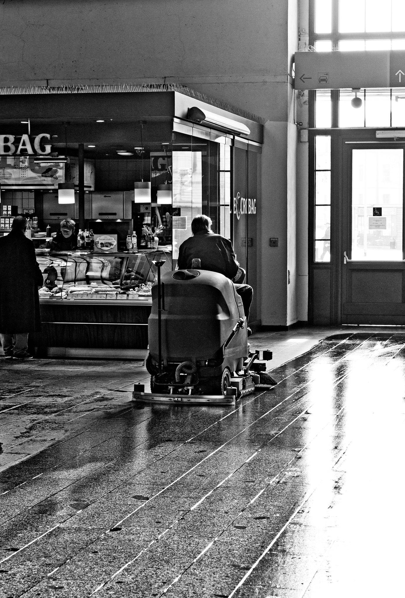 the lone rider // dresden neustadt