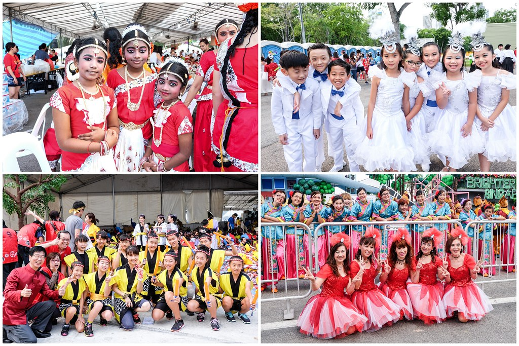 Chingay 2016: Performers getting ready