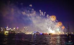 Fireworks on The Hudson