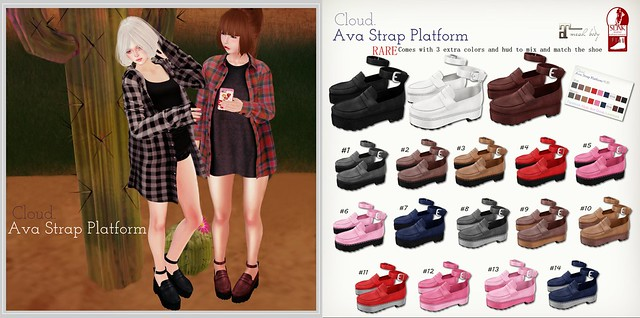 Cloud. Ava Strap Platform @ Whimsical