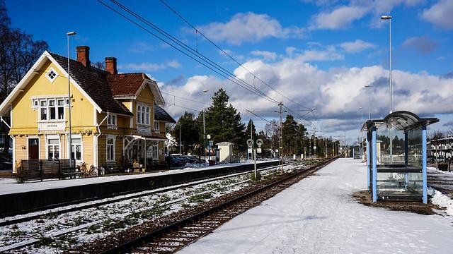 Hastra Station