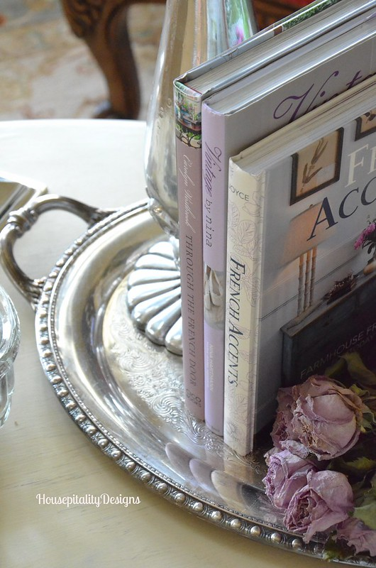 Silver Tray Vignette - Housepitality Designs