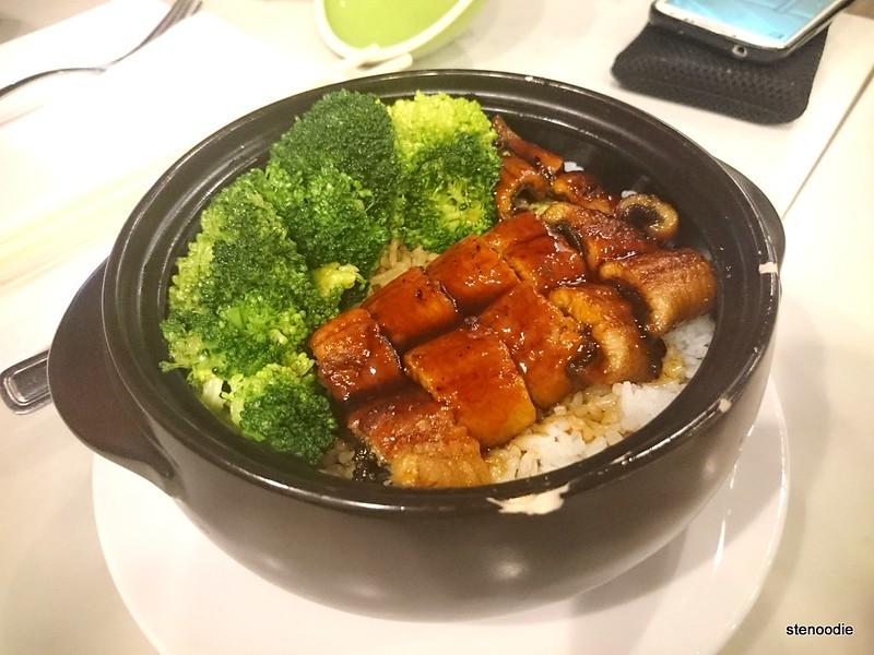 Eel with Teriyaki Sauce with Rice