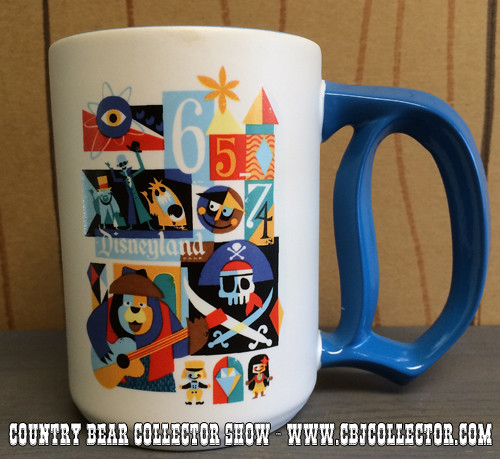 2015 Disneyland 60th Anniversary Decades Mug 1965 - 1974 - Country Bear Collector Show #008