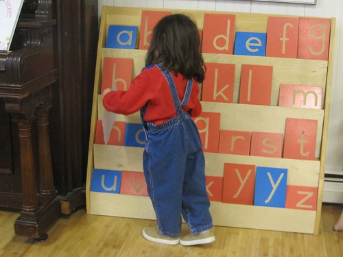 measuring the alphabet shelf heel to toe
