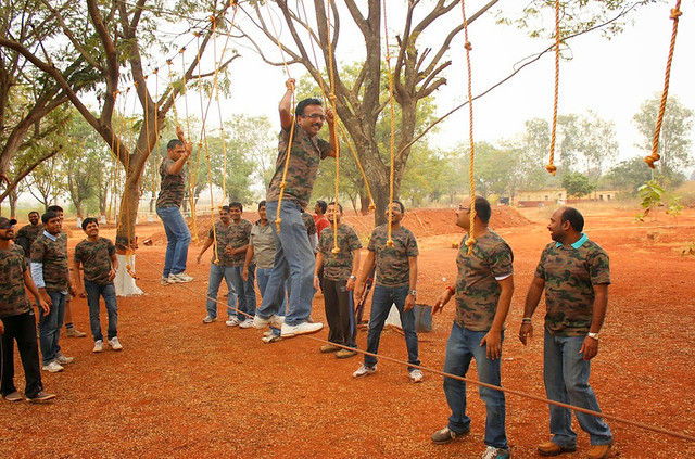 Low Ropes Course Challenge Kamshet, Mumbai