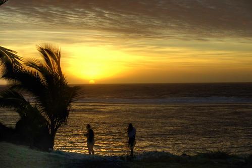 beach rarotonga photomatix sunsetssunrises variosonnartdt35451680