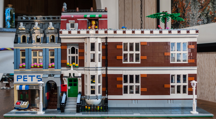 Mod Pet Shop Modular Big Bang Theory Lego Town