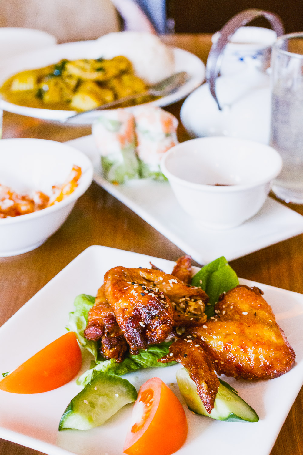 viet Grill Restaurant pho mile Vietnamese modern kingsland road london chicken wings