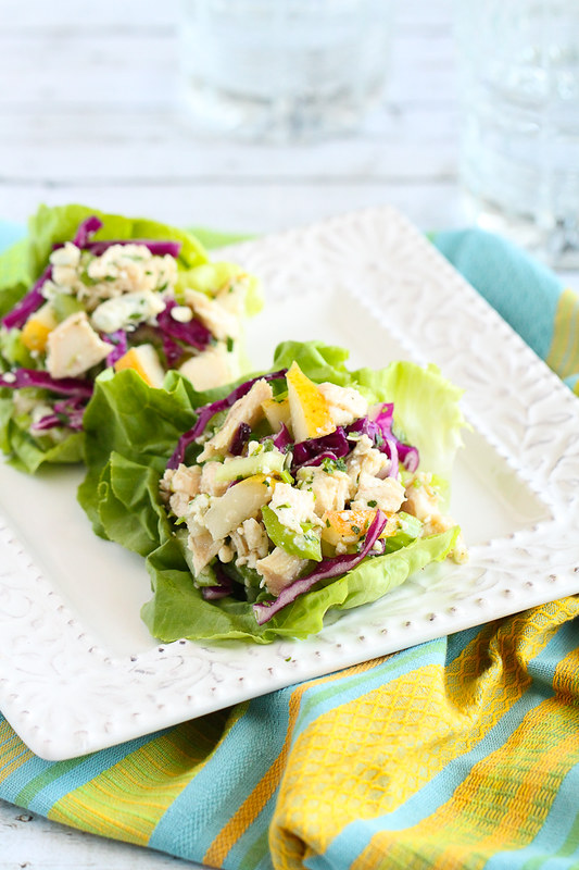 Updated Waldorf Salad Cups from Andie Mitchell's fantastic cookbook!…Satisfying and fresh! 303 calories and 6 Weight Watchers Freestyle SP