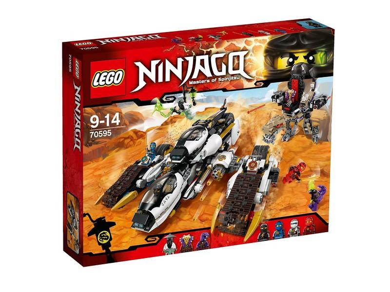 LEGO Ninjago Sets 2016: 70595 - Ultra Stealth Raider