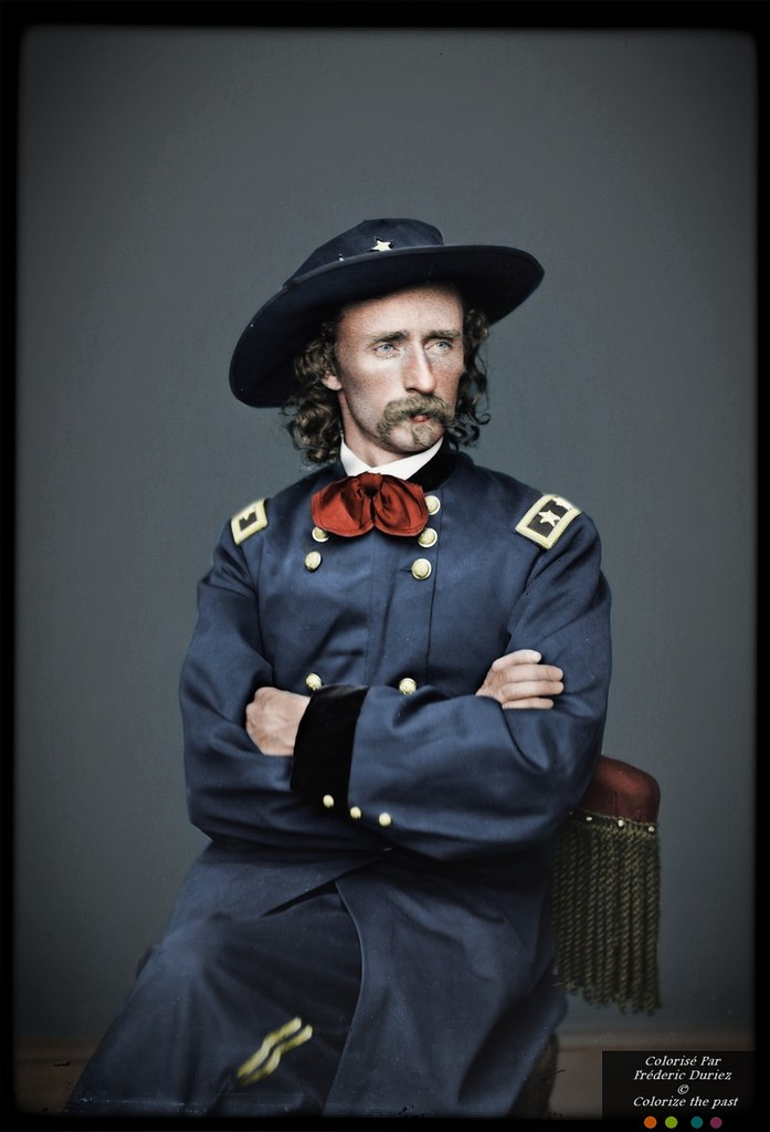major general george armstrong custer  december 5  1839