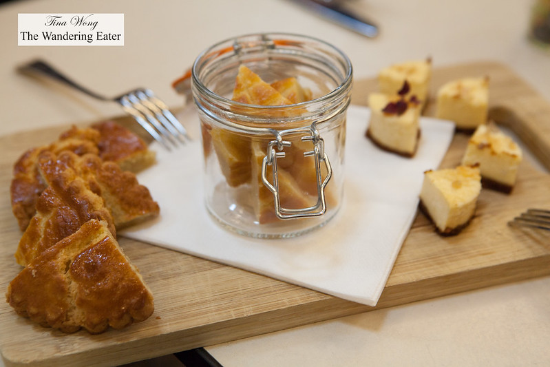 Traditional Dutch pastries (made in-house at the Amsterdam Museum Cafe)