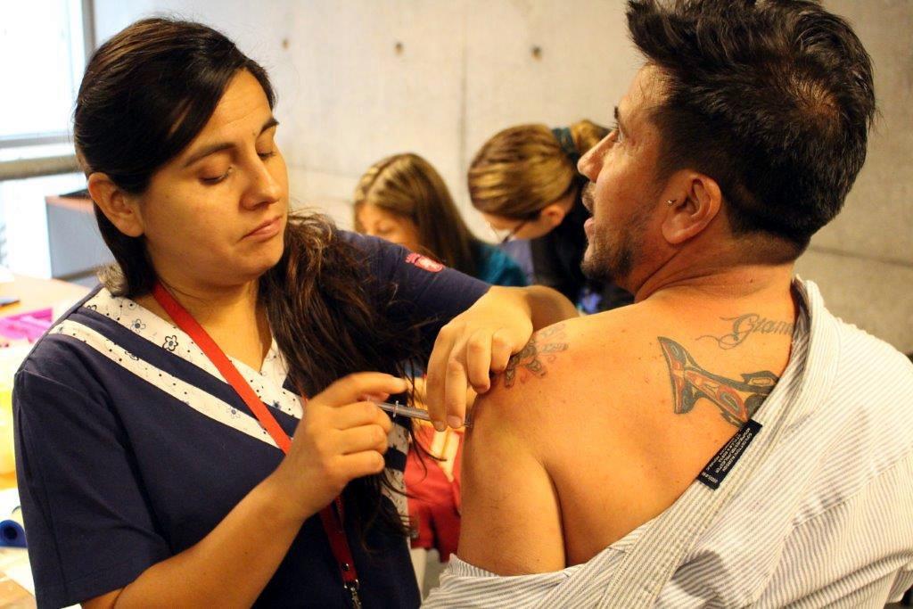 Exitosa Jornada de Vacunación contra la Influenza en DPP - 12 Abril 2016