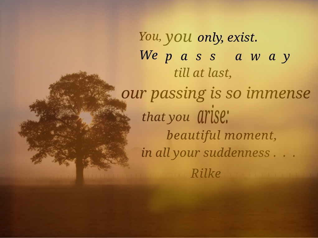 Beautiful Moment - Rilke
