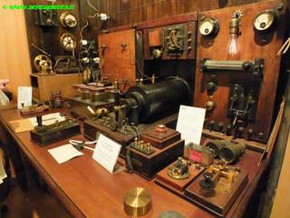 Una delle vecchie stazioni radio progettate e costruite da Guglielmo Marconi