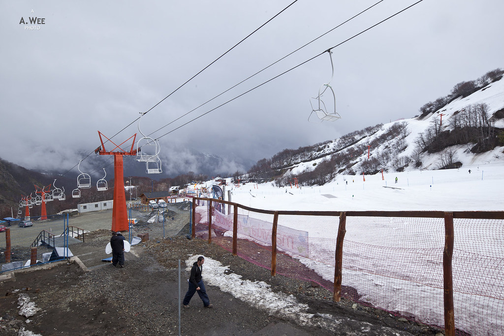 Plaza Otto and the Iglu chairlift