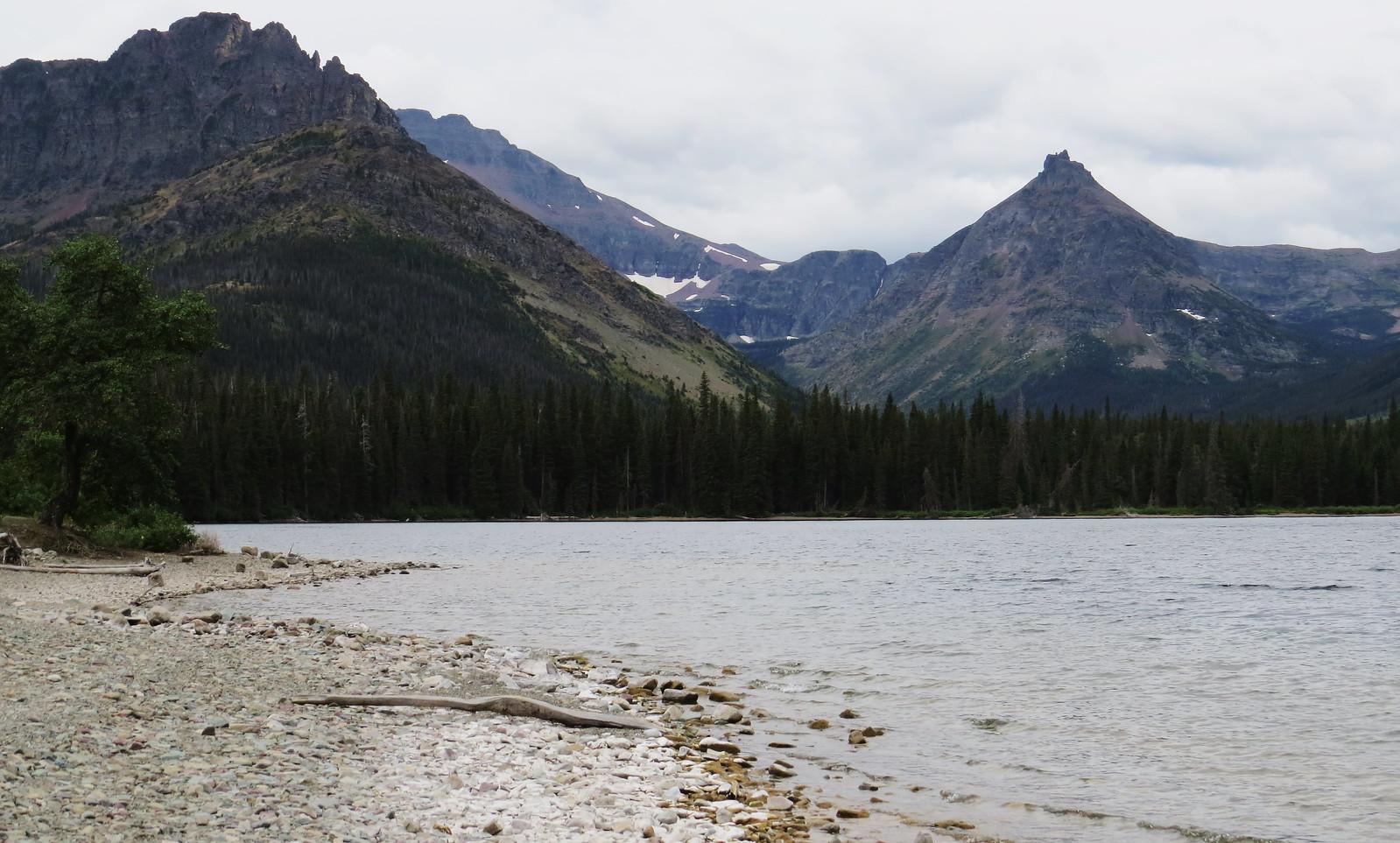 Appistoki Peak, Two Medicine Lake, Montana