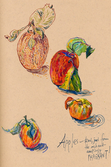 Sketchbook #93: Apples