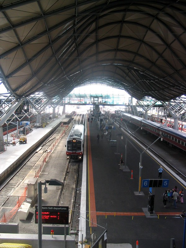 Spencer Street/Southern Cross station, January 2006