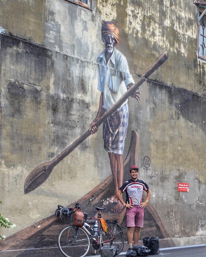 In Penang, George Town, Malaysia