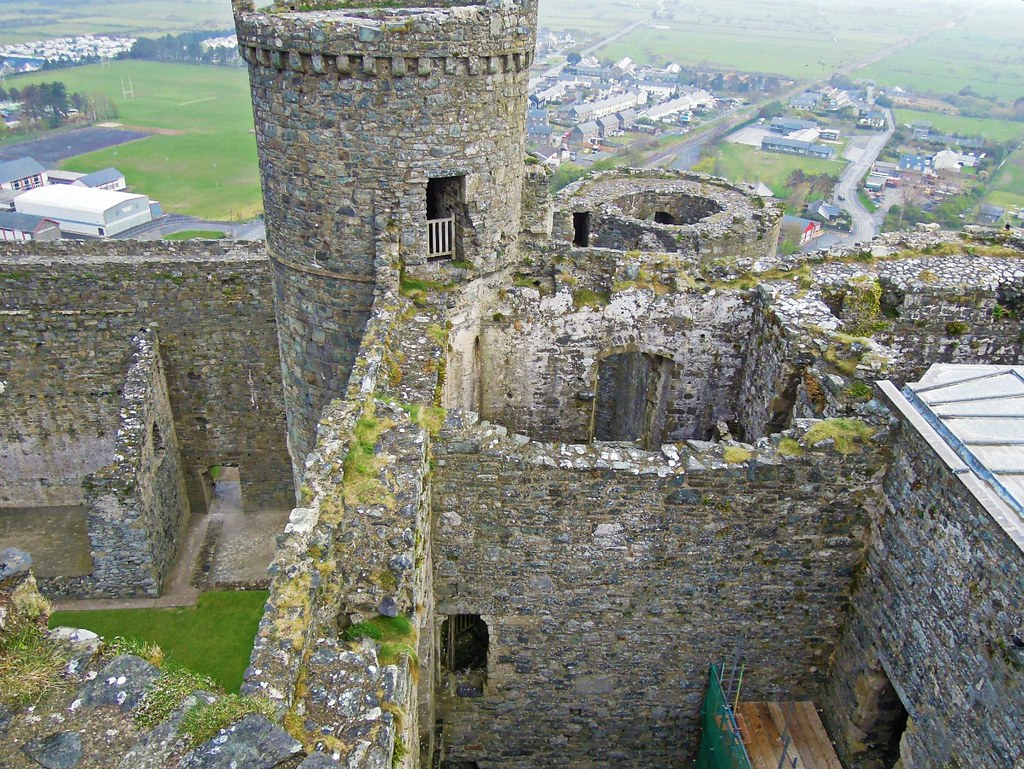 Harlech Castle. Credit ebel, flickr