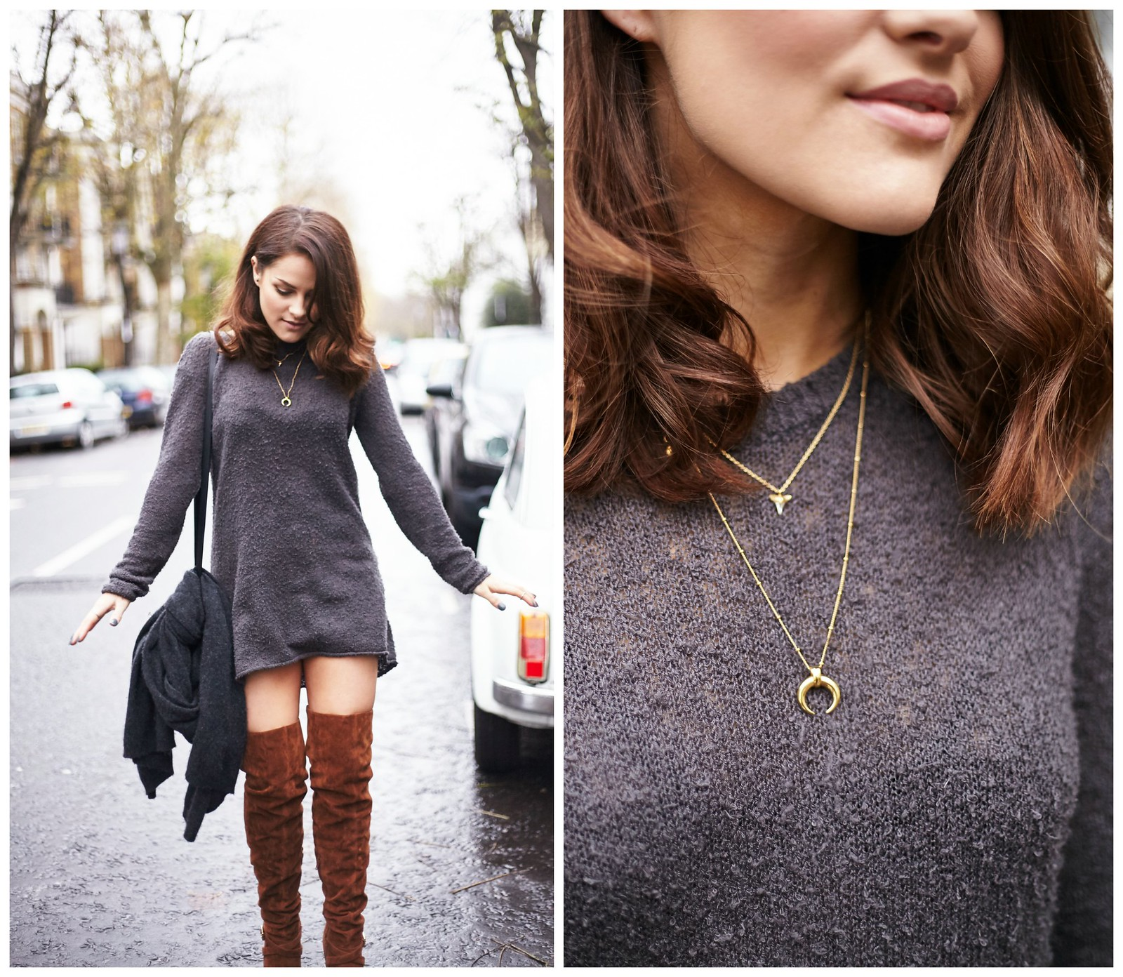 The Little Magpie Over The Knee boots 5