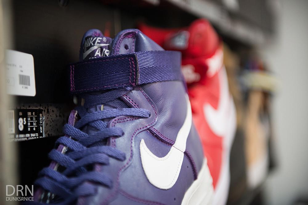 1993 Purple AF1's.