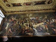 Crucifixion, Tintoretto, Scuola Grande di San Rocco, 1565