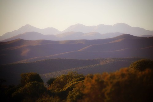 sunset mountains southafrica buffelsdrift