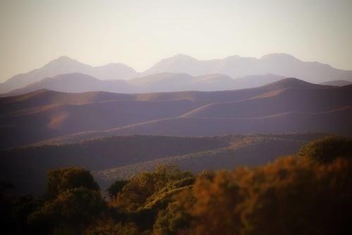 sunset mountains southafrica buffelsdrift