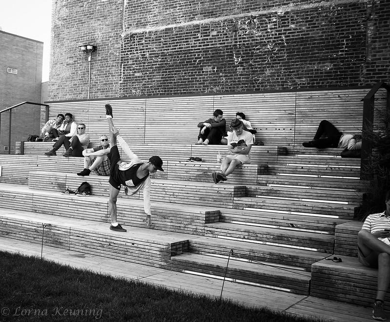 Dancer on the High Line