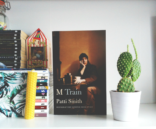 uk book blog vivatramp patti smith m train book haul