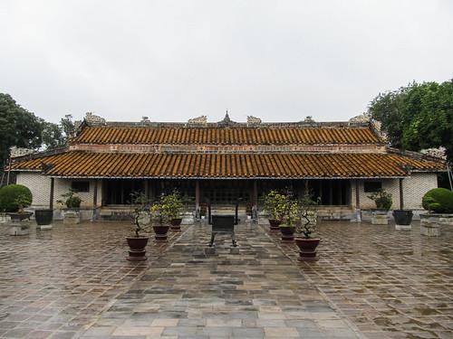 Le Tombeau de Tu Duc: le Temple de la reine-mère