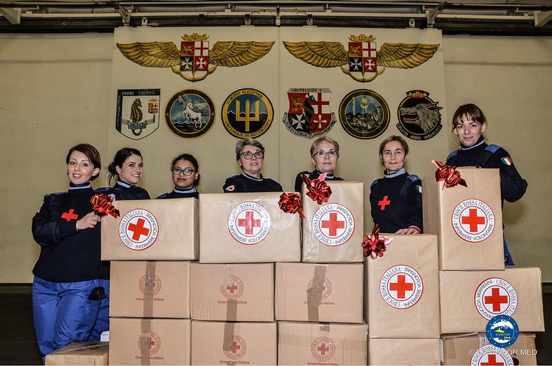 Op. Sophia and the Italian Red Cross strengthen their partnership – EUNAVFOR MED
